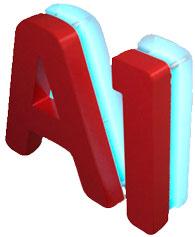 Объёмные буквы из пластика светодиодной контражурной подсветкой